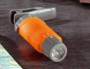 Bresser LED Lampe de Poche lumière blanche