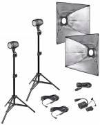 BRESSER Set de flashs de studio P-250 N° 2