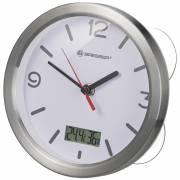 Horloge de Bain BRESSER MyTime Thermo/Hygro - blanc