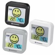 Thermohygromètre BRESSER Temeo Smile avec Indicateur de Climat intérieur