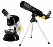 NATIONAL GEOGRAPHIC set télescope + microscope