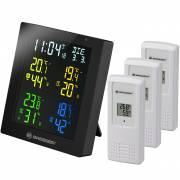 ClimaTemp Hygro Quadro Thermo hygromètre écran couleur avec 3 capteurs