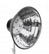 BRESSER MM-05 Support de lampe avec réflecteur pour 4 lampes spirale