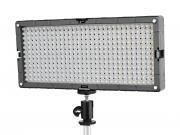 BRESSER SL-360 Lampe de studio LED vidéo Slimline 21.6W/2.400LUX