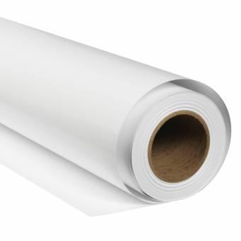 BRESSER SBP01 Fond de Studio Papier sur rouleau 2,72 x 11m Blanc Arctique