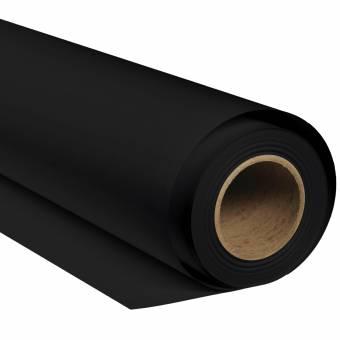 BRESSER SBP02 Fond de Studio Papier sur rouleau 2,72 x 11m Noir