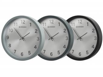 Horloge murale BRESSER MyTime Silver Edition