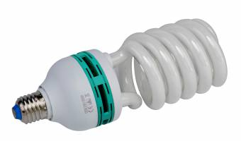 BRESSER JDD-6 Ampoule en spirale Lumière du Jour E27/ 125W