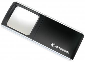 BRESSER Loupe LED-Pop-Up 3x 35x50mm