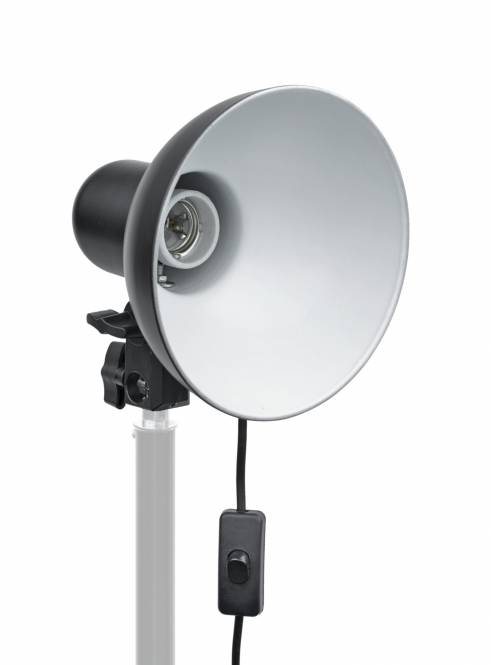 BRESSER MM-04 Douille avec réflecteur pour 1 lampe