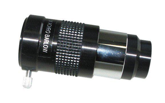 """BRESSER Lentille Barlow achromatique 3x (1.25"""")"""