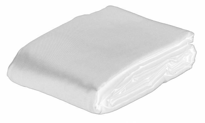 BRESSER BR-8P Fond en Tissu 3,0x6,0m blanc de polyester