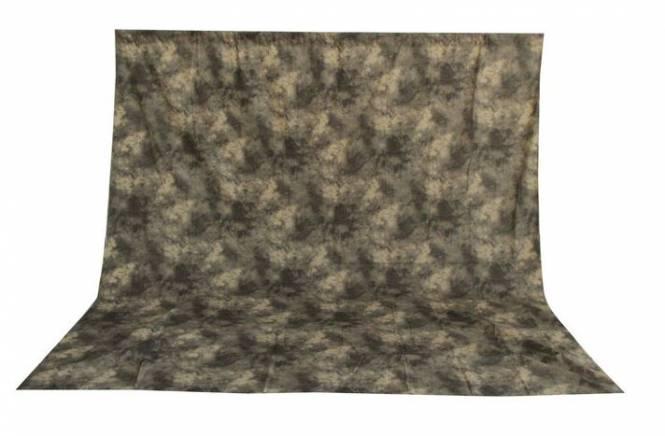 BRESSER BR-6101 Fond en Tissu à Motif lavable 3x6m