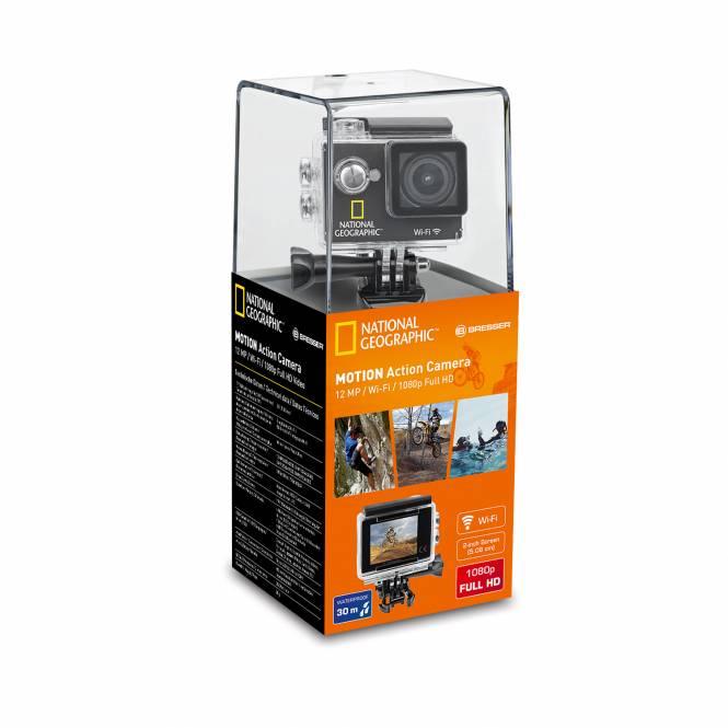Full-HD WIFI Action Camera, 140°, 30m Imperméabe à l'eau