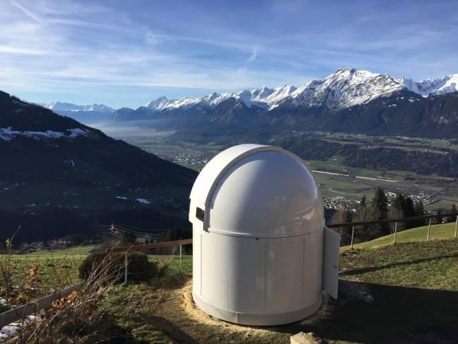 Observatoire PULSAR 2,7 m - Conception haute