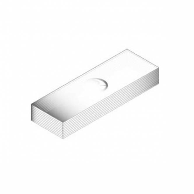 Euromex PB.5160 Lames porte-objets 76 x 26 mm