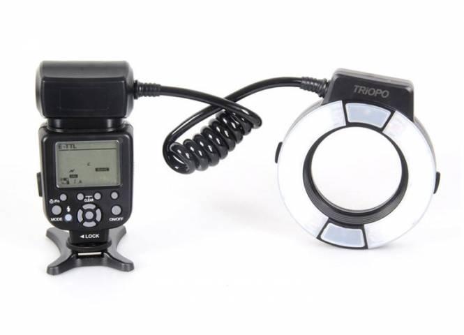 Flash annulaire Triopo TR-15EX C TTL pour Canon
