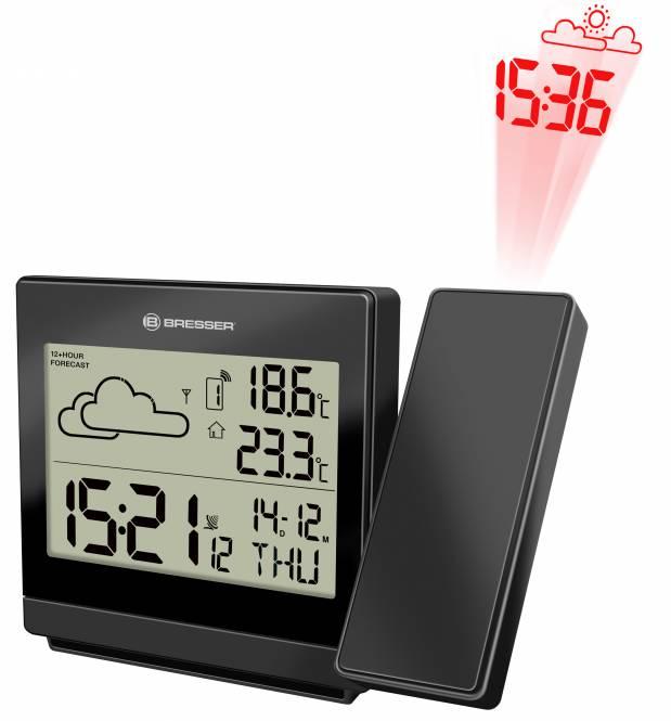 Horloge sans fil RC de prévisions météorologiques, TemeoTrend P