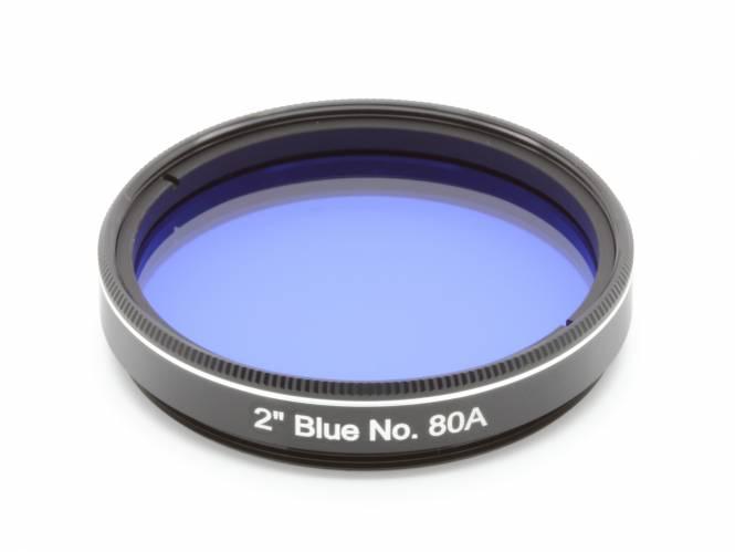 """EXPLORE SCIENTIFIC Filtre 2"""" Bleu Nr.80A"""