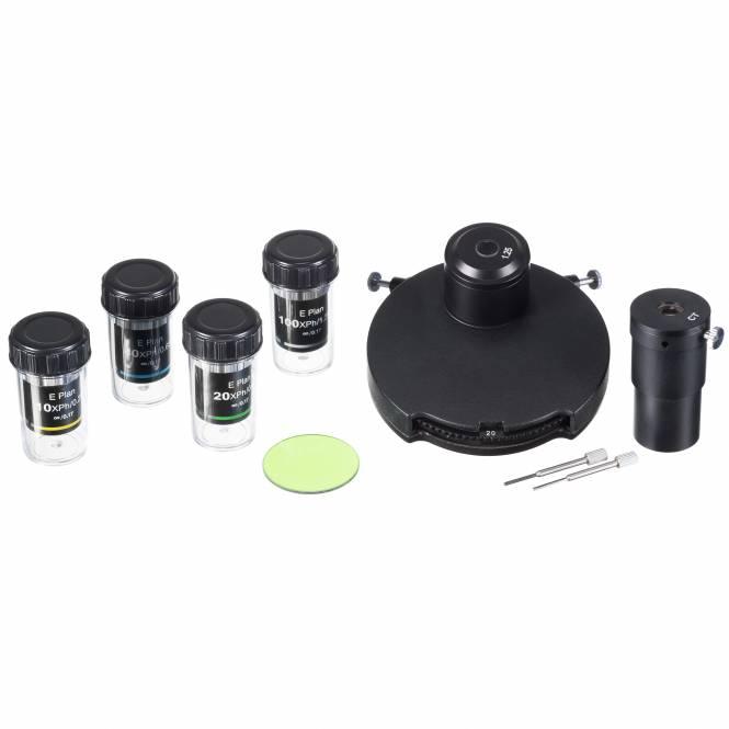 Kit de Contraste de Phase BRESSER pour le Microscope Science Infinity