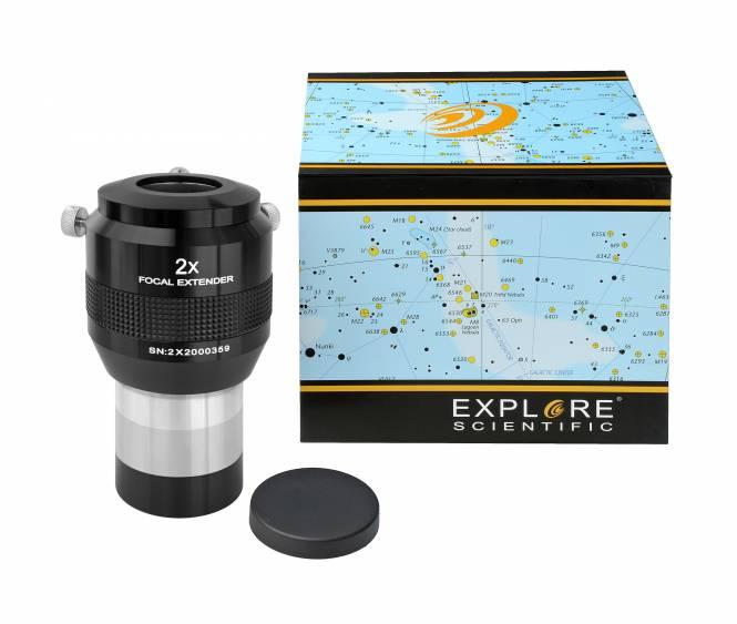 "Multiplicateurs de focale 2x 50,8mm/2"" EXPLORE SCIENTIFIC"