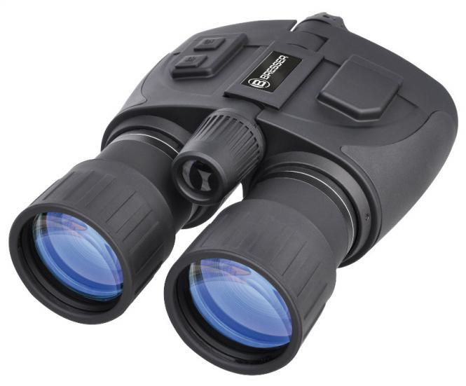 BRESSER jumelles de vision nocturne NightSpy Bino 5x50 (Analogique)