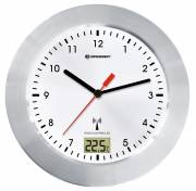 BRESSER Horloge murale MyTime Bath RC fond blanc